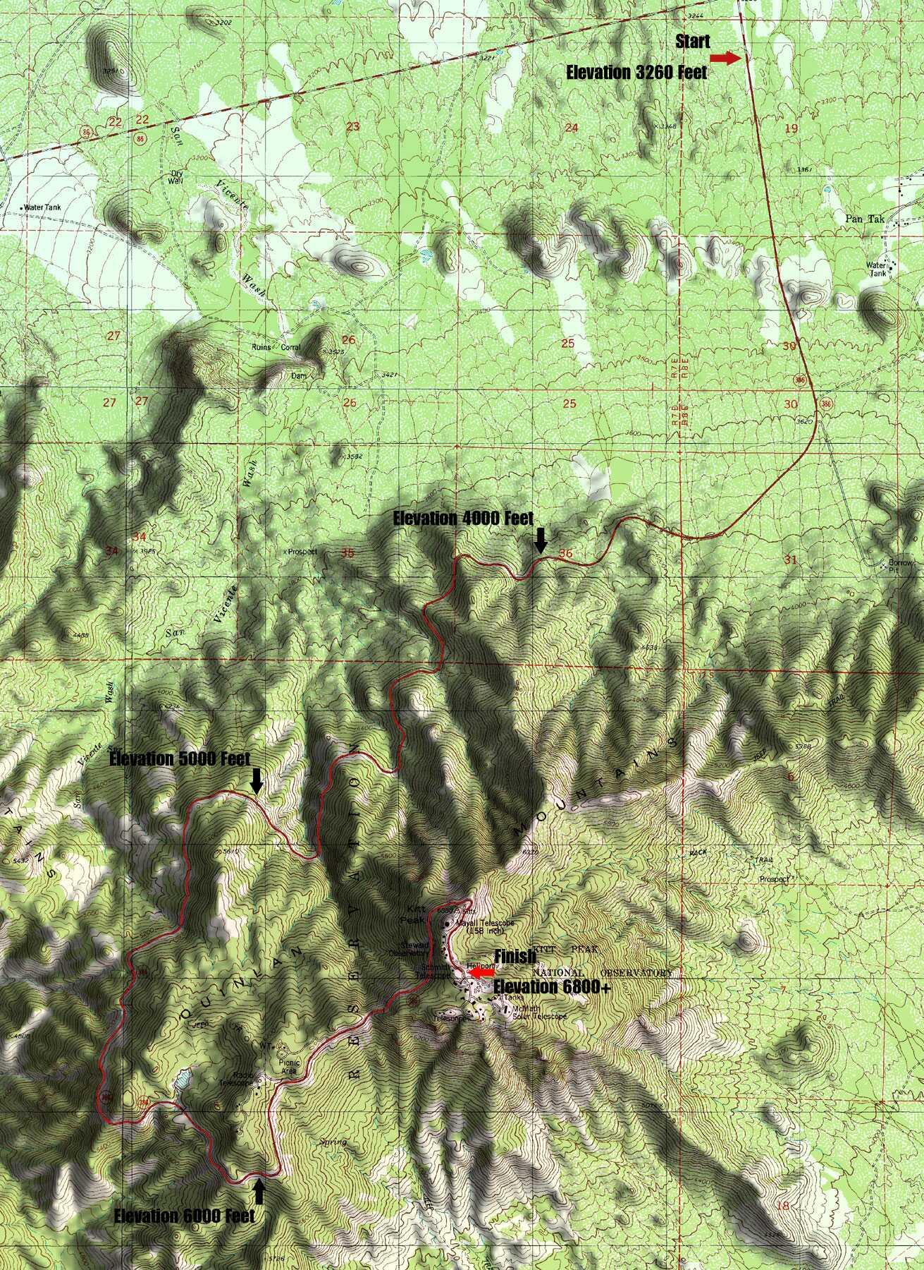 Kitt Peak Time Trial
